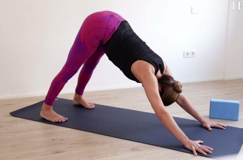 Aprende yoga con Pati Galatas. Clase para principiantes