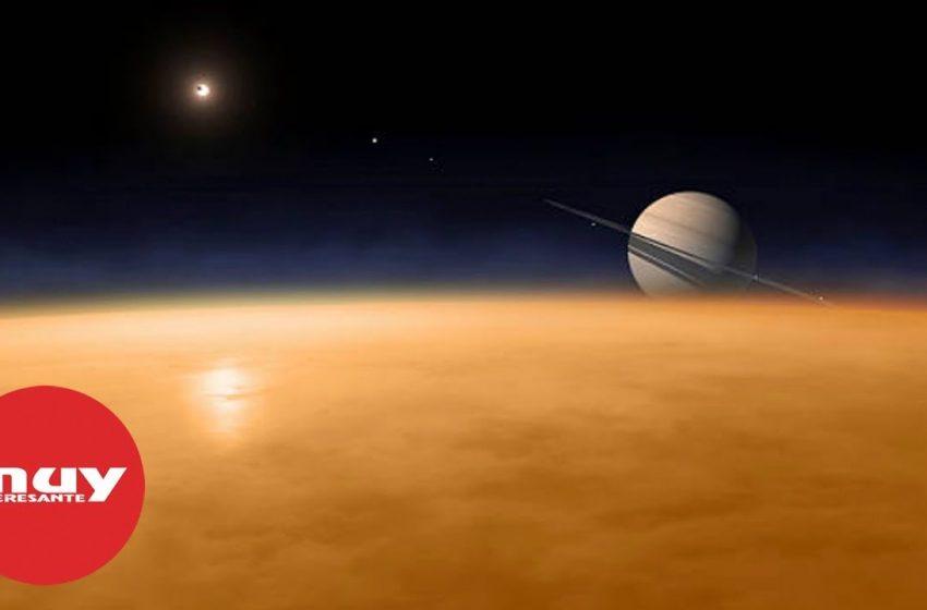 Titán, la mayor luna de Saturno