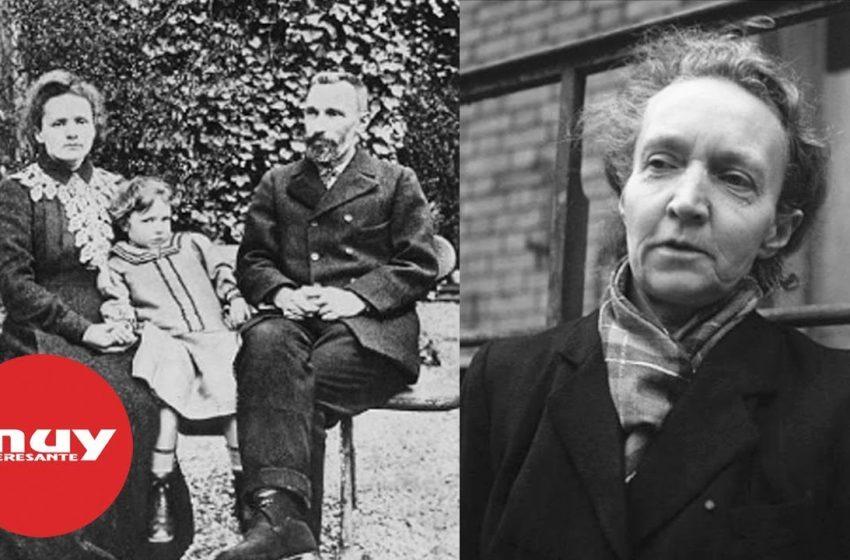 Irène Joliot-Curie siguió la estela científica de sus padres