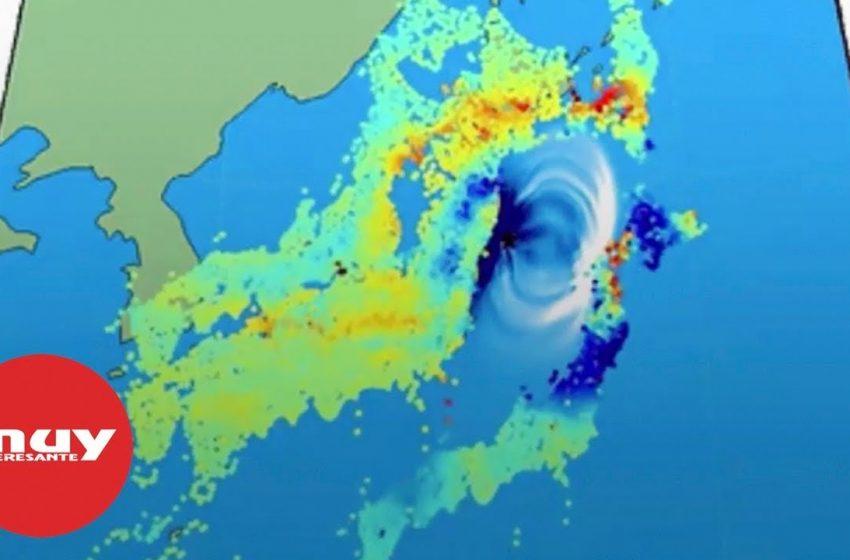 El terremoto que desplazó Japón más de dos metros