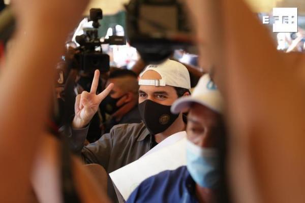 Pese a que el ente electoral salvadoreño ha empezado a procesar los votos de los comicios de este domingo, el partido Nu…