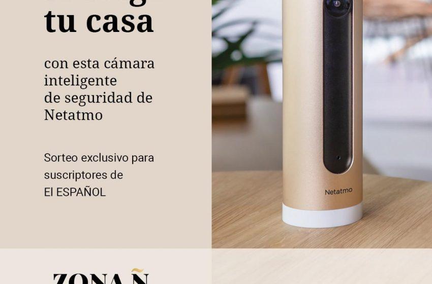 #ZonaÑ  Protege tu casa de intrusos con esta cámara interior inteligente de Netatmo. Exclusivo para suscriptores de EL E…