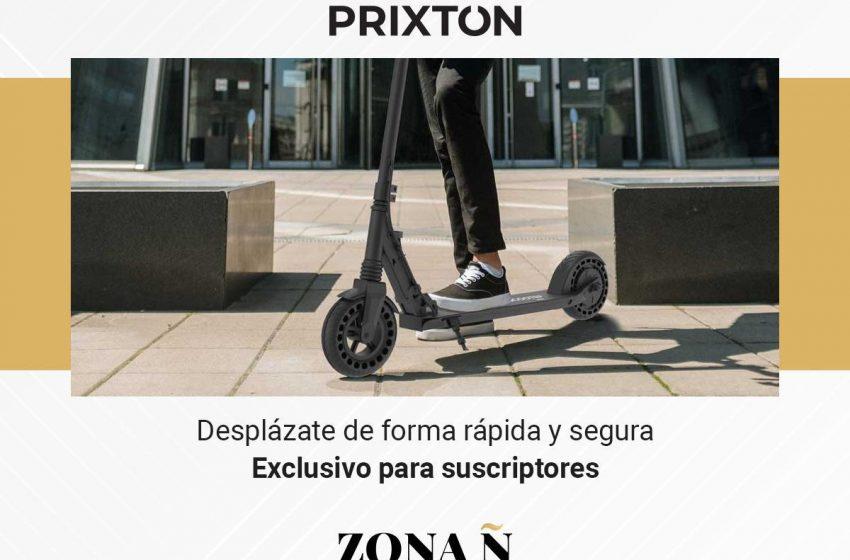 #ZonaÑ  ¿Eres suscriptor de EL ESPAÑOL y quieres este patinete eléctrico de PRIXTON (@prixtoncompany)? ¡Date prisa en pa…
