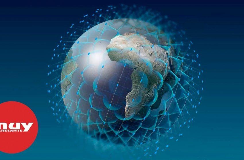 Una megaconstelación de satélites ofrecerá internet desde el espacio