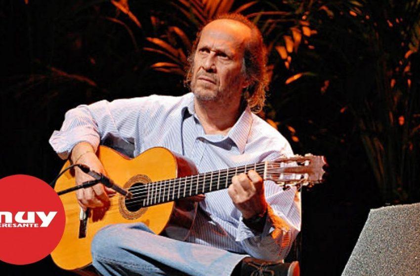 Paco de Lucía, el maestro de la guitarra española