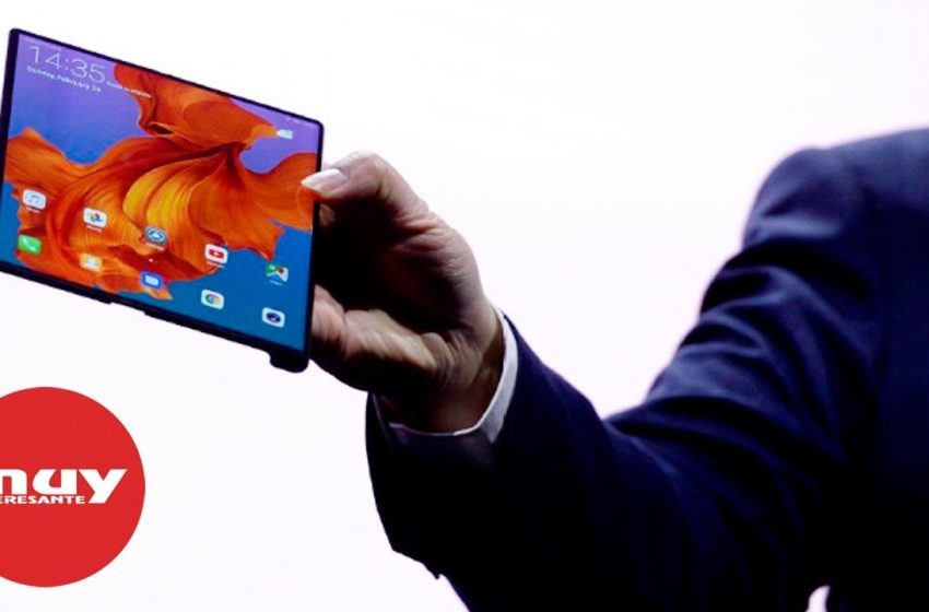Huawei presenta Mate X: su primer teléfono plegable