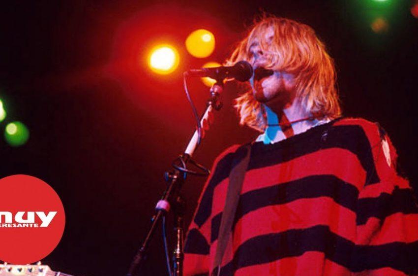 Kurt Cobain: el rostro del movimiento 'grunge'