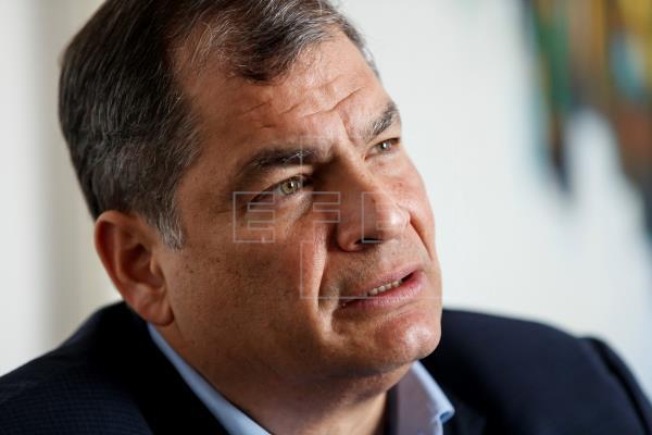 El expresidente de Ecuador Rafael Correa pidió el voto para Andrés Arauz, el candidato de Unión por la Esperanza, al que…