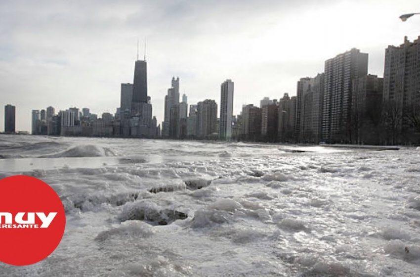 Chicago registra menos temperatura que la Antártida