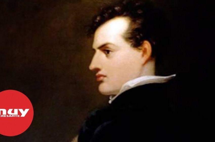 Lord Byron, uno de los poetas más importantes del Romanticismo