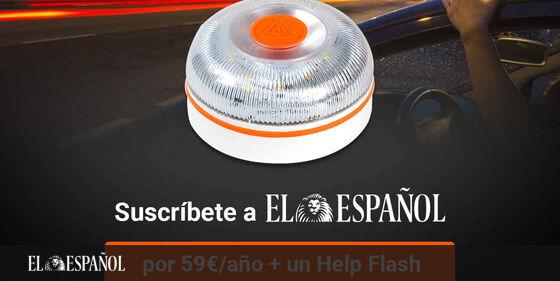 #HazteLeón Suscríbete a El Español y di adiós a los triángulos de emergencia con la nueva luz Help Flash …