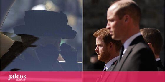 Las lágrimas de Isabel II y la tensión entre Guillermo y Harry: así ha sido el funeral del duque de Edimburgo …