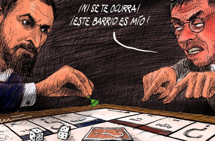 ¡El barrio es mío! #ElZarpazo por @donTomasSerrano #españa #politica #vivienda #vox #abascal #podemos #monedero …