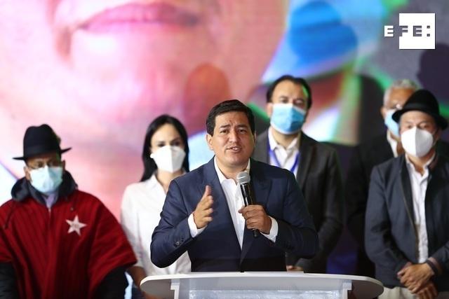 #EFEURGENTE | Arauz reconoce el triunfo de Lasso y un «traspié» electoral en el balotaje en Ecuador. #Elecciones2021Ec #…