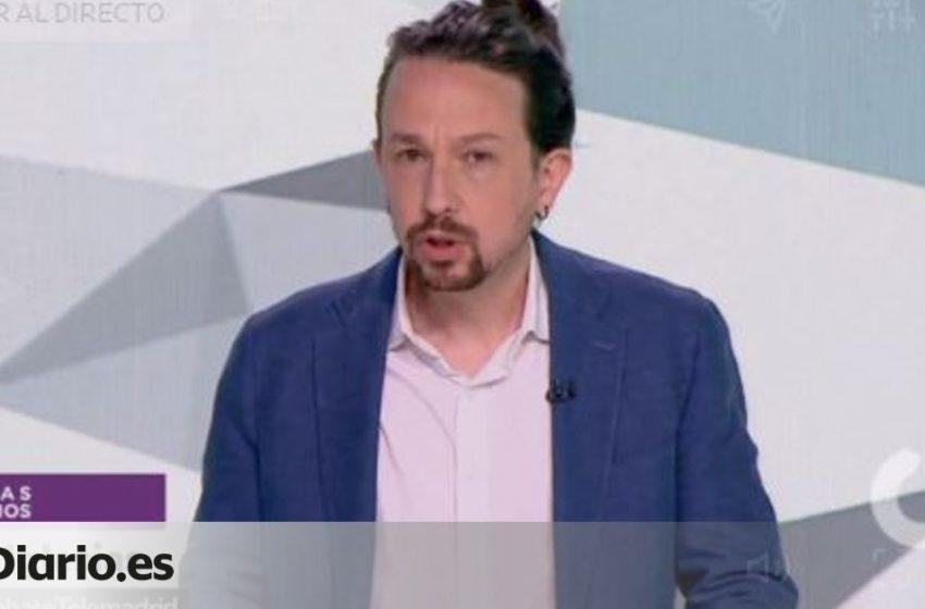 Pablo Iglesias inicia el debate recordando a los trabajadores de Madrid su derecho a un permiso para votar: «Estas elecc…