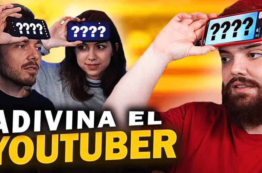 ADIVINA EL YOUTUBER CON PISTAS