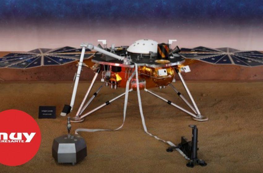 La nave de la NASA, 'Insight', aterriza sin problemas en Marte