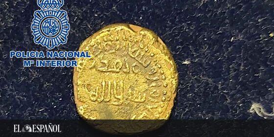#PatrimonioHistórico | Recuperan una valiosa y excepcional moneda de oro musulmana: acuñada en Córdoba en el año 716, e…