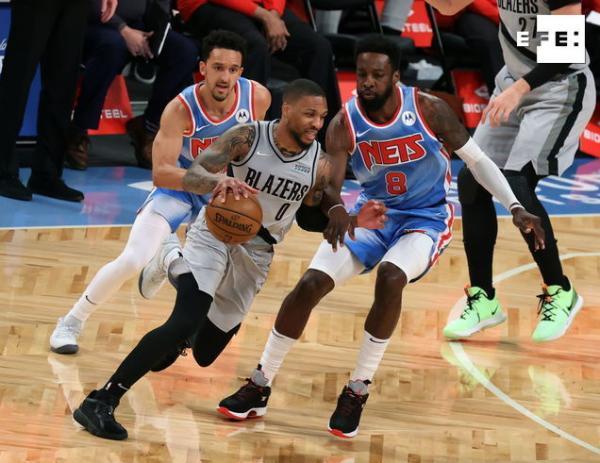 CRÓNICA | 109-128. El poder ofensivo de Lillard y la defensa le dan victoria a los Trail Blazer sobre los Nets. #NBA    …