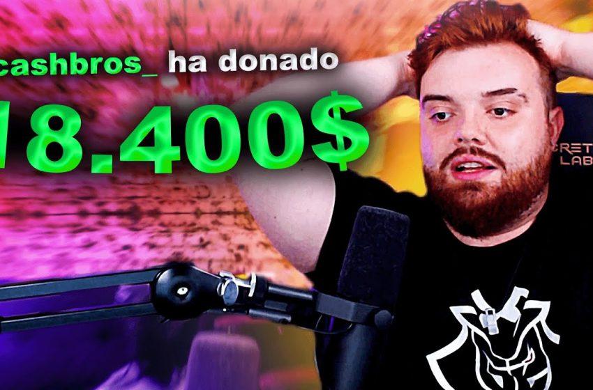 ME HACEN LA MAYOR DONACIÓN DE MI VIDA (+18.400€)