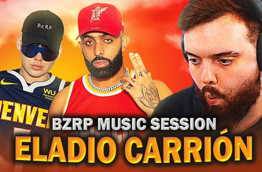 REACCIONANDO a BIZARRAP Music Sessions #40 | Eladio Carrión