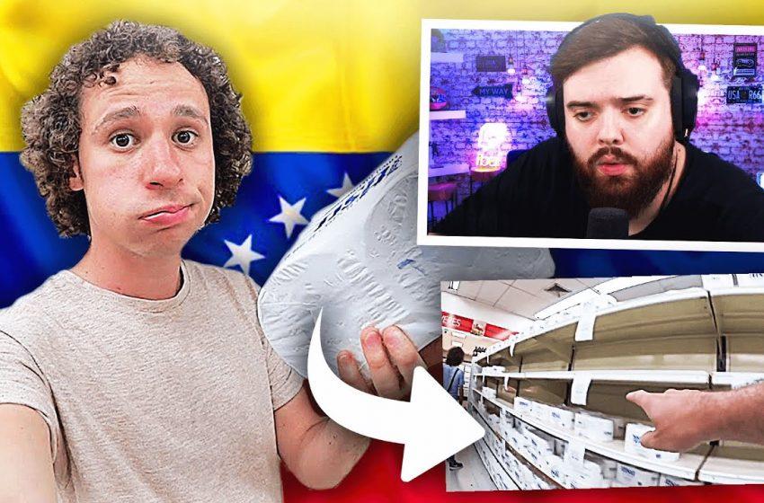 REACCIONANDO A UN SUPERMERCADO EN VENEZUELA – LUISITO COMUNICA
