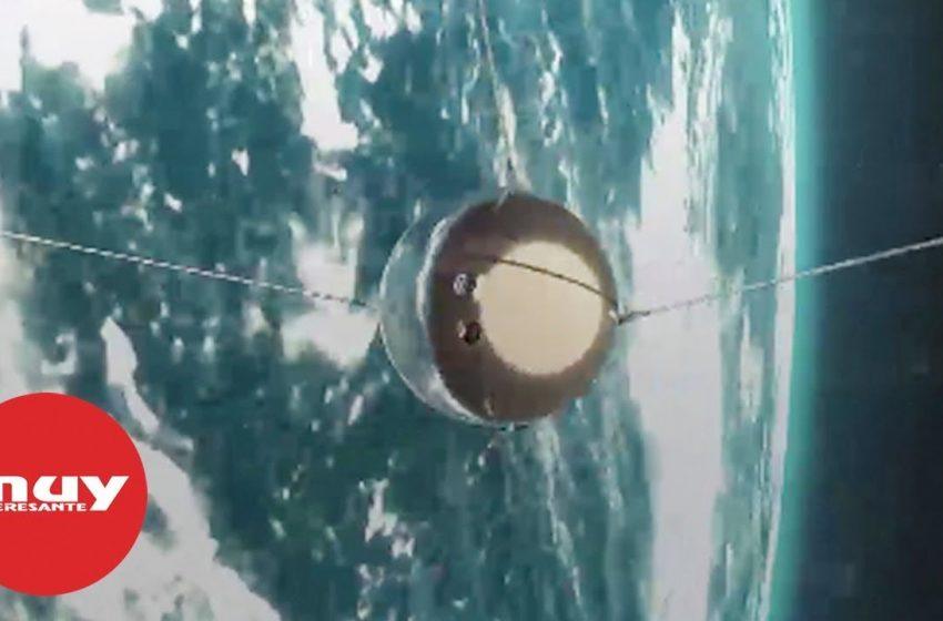Sputnik, el primer satélite artificial