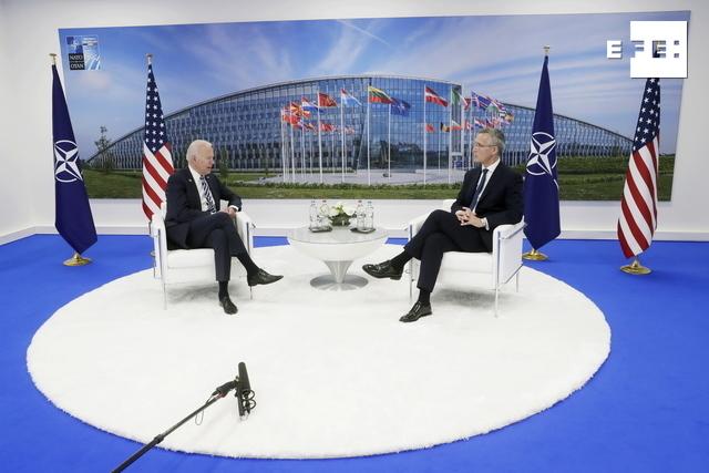 Biden advierte en la OTAN de los nuevos retos provenientes de Rusia y China.  #EFEViajaconBiden   …