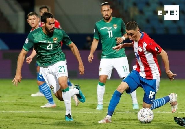 CRÓNICA   3-1. Un doblete de Ángel Romero eleva a Paraguay al liderato en el Grupo A. #CopaAmérica    Alberto Valdes/Joe…