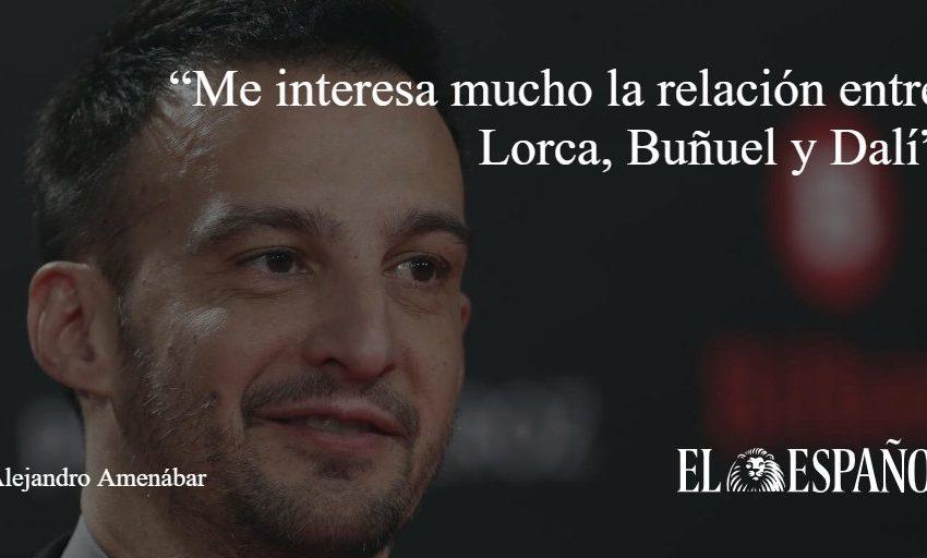 """#Entrevista   Alejandro Amenábar: """"Me interesa mucho la relación entre Lorca, Buñuel y Dalí"""", por @Zurro_85 vía @cultur…"""