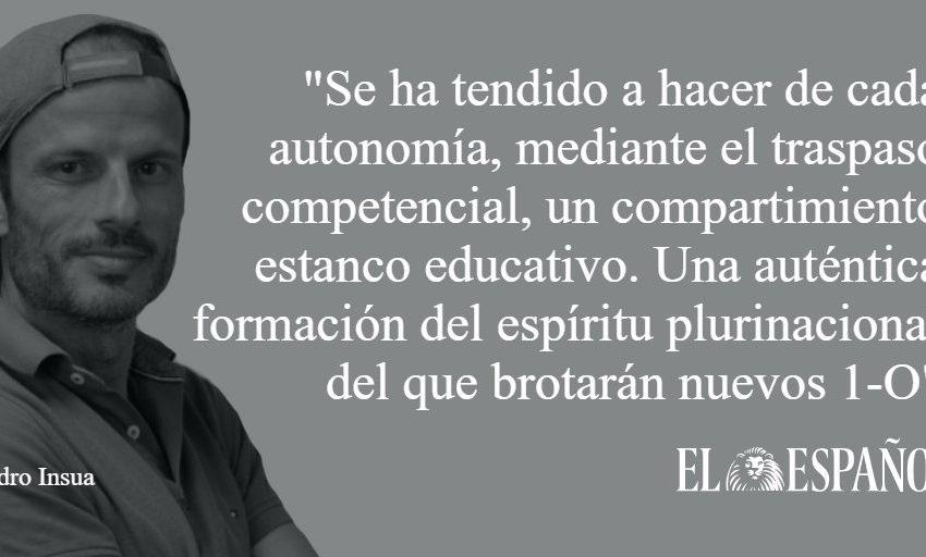 #SalLeAlPaso | Contra la formación del espíritu plurinacional, por @PedroInsua1   …