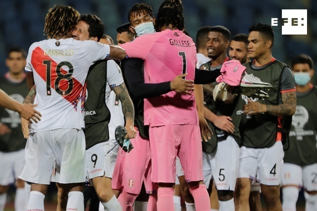 CRÓNICA   1-2. Un gol en propia puerta de Yerry Mina le da vida a Perú. #CopaAmérica    Joedson Alves  …