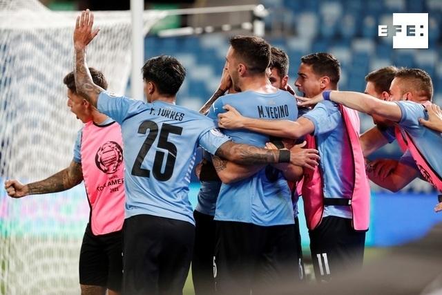CRÓNICA   1-1. Vidal marca autogol y Uruguay deja sin la victoria a un viejo conocido. #CopaAmérica   Sebastiao Moreira …