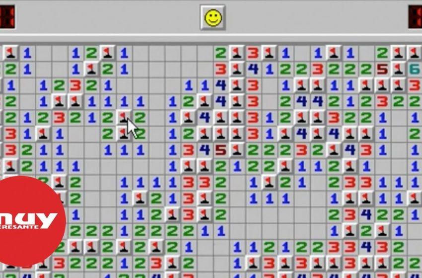La historia del Buscaminas, uno de los primeros juegos en la interfaz de Windows