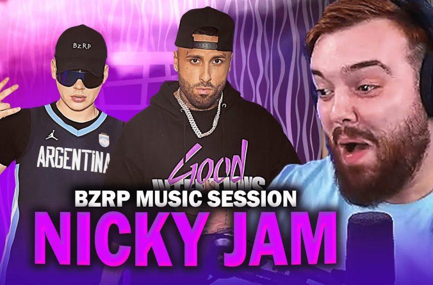 REACCIONANDO a BIZARRAP Music Sessions #41 | Nicky Jam
