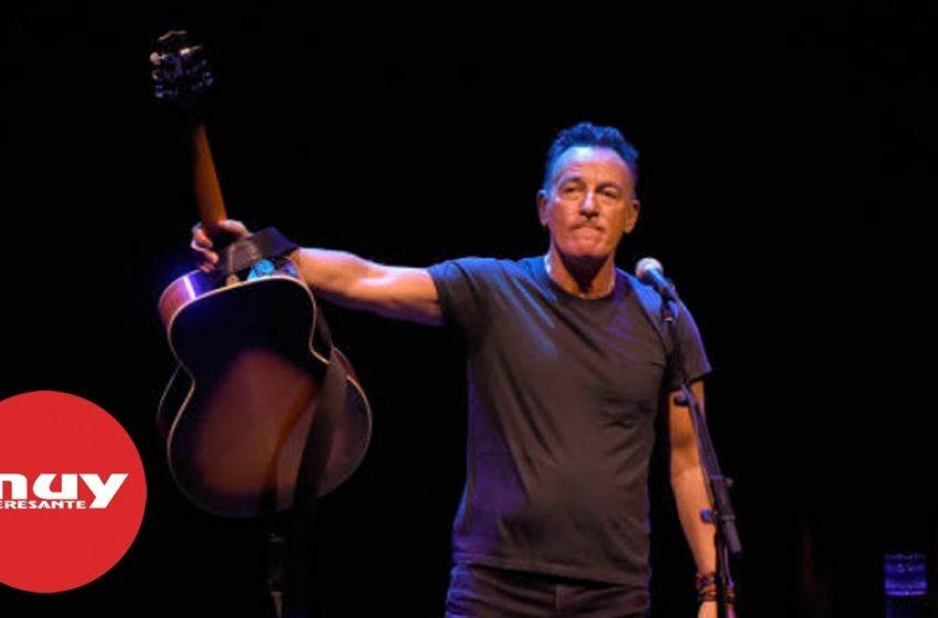 Bruce Springsteen, uno de los iconos más importantes del Rock&Roll