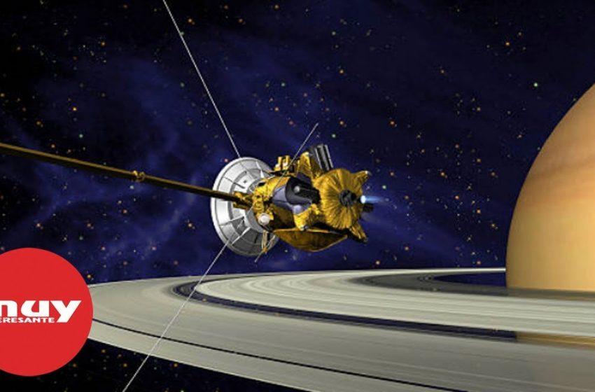 El Gran Final de la sonda Cassini