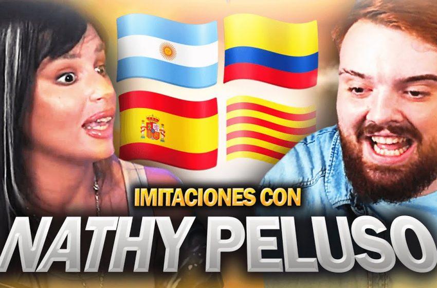 IMITANDO ACENTOS CON NATHY PELUSO Y COSCU