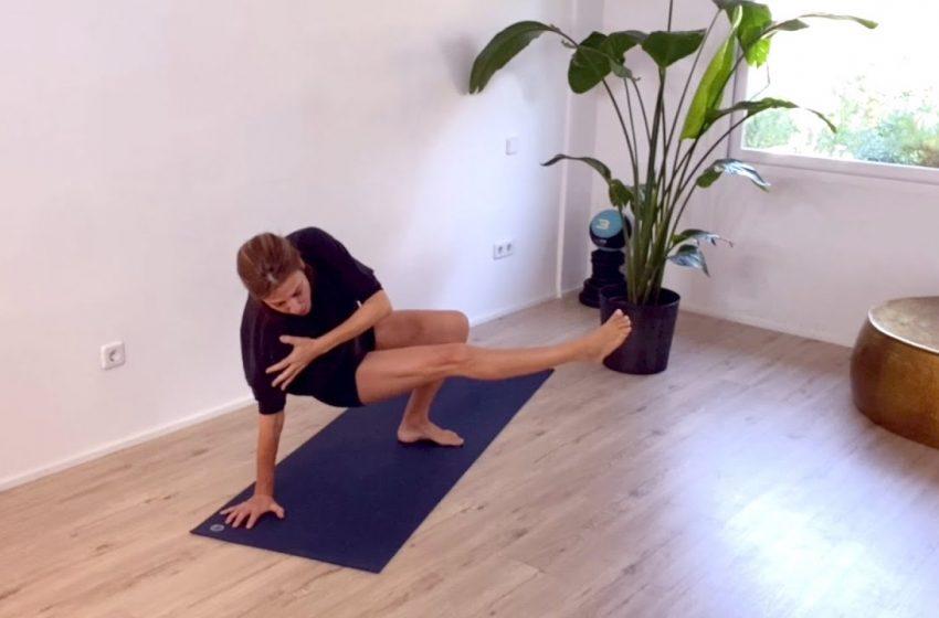 Yoga con Pati Galatas: rutina de fuerza y movilidad