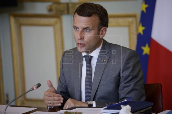 El presidente francés, Emmanuel Macron, llega esta sábado a la Polinesia Francesa (Pacífico Sur) para un visita oficial …