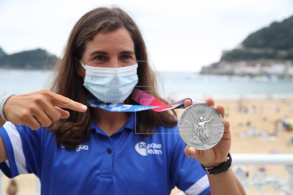 La piragüista guipuzcoana Maialen Chaurraut, medalla de plata en los Juegos Olímpicos de Tokio, se ha dado este jueves u…
