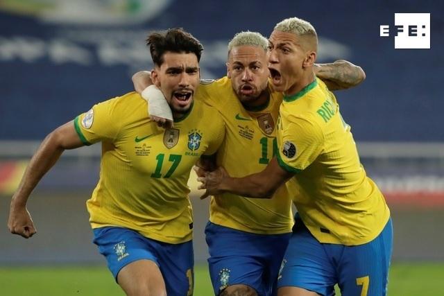 CRÓNICA   1-0. Brasil despide a Chile y se medirá con Perú en semifinales.  #CopaAmérica    …