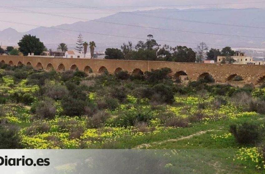Una constructora destruye un acueducto de Almería del siglo XIX para levantar un complejo residencial …