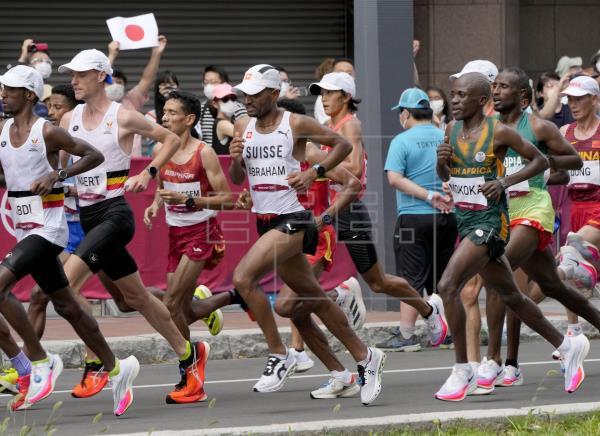 Ayam Lamdassem, plusmarquista español de maratón, rozó la gloria con un quinto puesto, a sólo 16 segundos de la medalla …