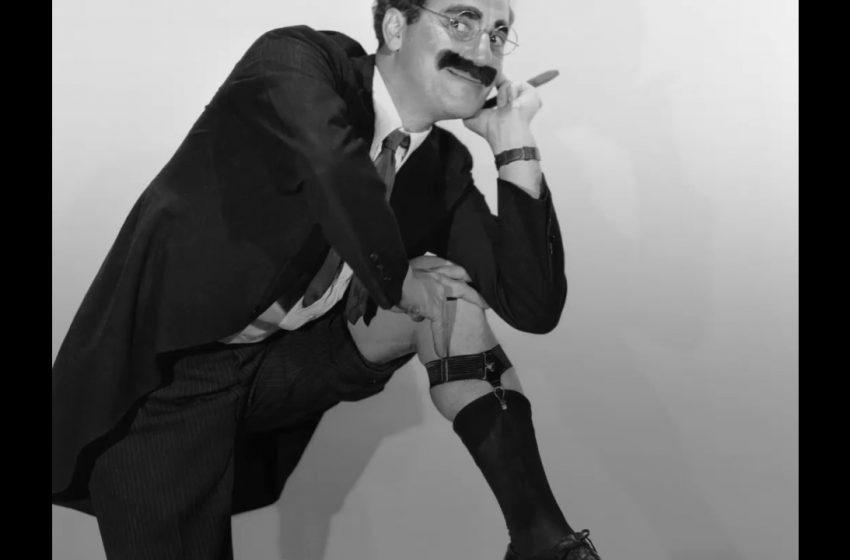 Groucho Marx, uno de los grandes cómicos del siglo XX