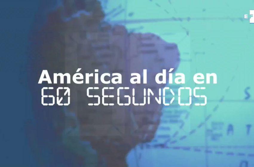 #EFETV | Te contamos en 60 segundos cómo transcurrió el 23 de agosto en América.   Toda la información en Efeservicios: …