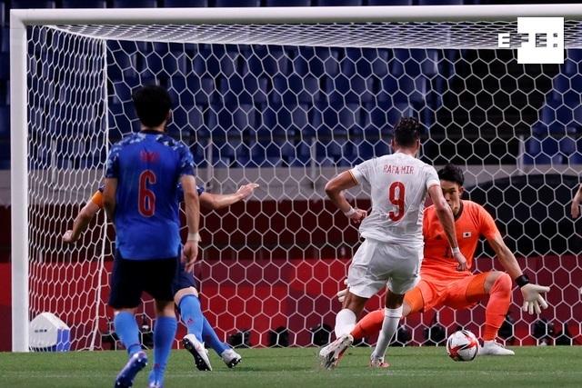 #ÚLTIMAHORA | 0-0. Rafa Mir perdona en una España imprecisa al descanso. #Tokio2020    …