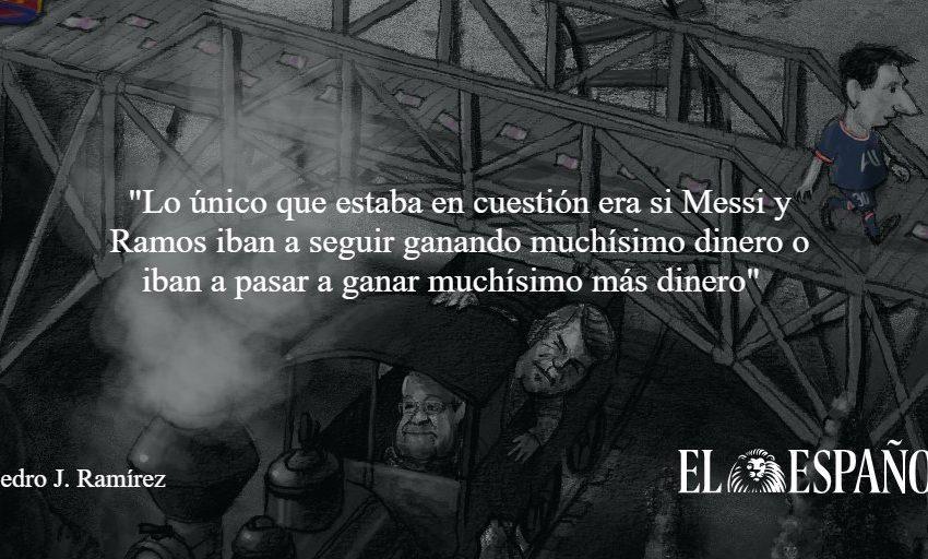#CartaDelDirector   Messi y el fallido asalto al tren de LaLiga, por @pedroj_ramirez en EL ESPAÑOL  …