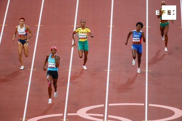 Shaunae Miller-Uibo retiene su corona en 400 metros, Felix suma y sigue. #Tokio2020     …
