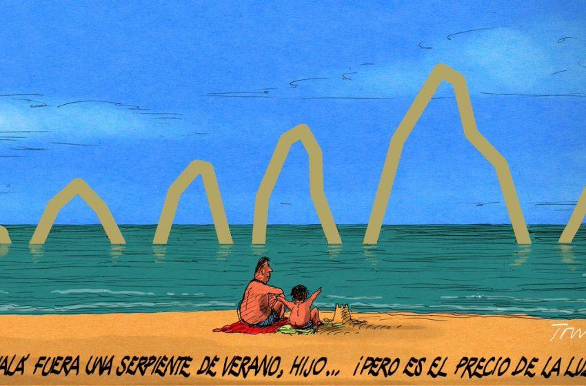 La peligrosa serpiente de verano #ElZarpazobpor @donTomasSerrano #españa #Covid_19 #verano #quintaola #pandemia …
